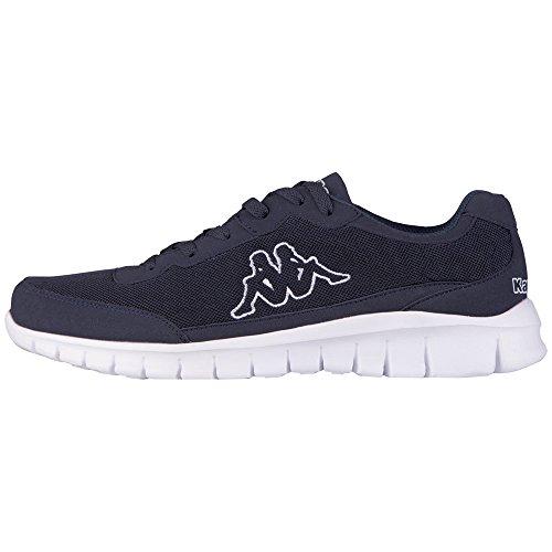 KappaROCKET Footwear unisex, Mesh/Synthetic - Zapatillas Unisex adulto Azul - azul (6710 Navy/blanco)