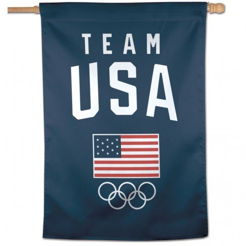 WinCraft Olympics USOC Team USA Logo Vertical Flag, 27
