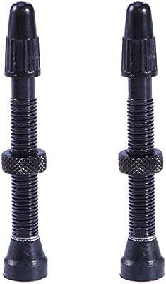 LIOOBO 2 Piezas de aleación de Aluminio Premium sin cámara Rueda ...