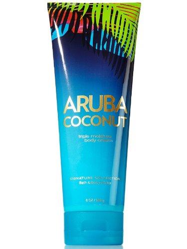 Bath & Body Works Aruba Coconut Triple Mositure Body Cream