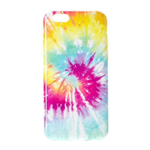 Claire's Girl's Rainbow Tie Dye Silicone iPod Touch 5/6 Case