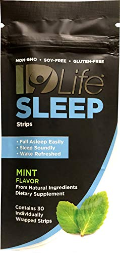 IDLife - Sleep Aid for Adults, All Natural Non-GMO, Non-Habit Forming, Melatonin, L-Theanine, 5HTP - 30 Individually Wrapped Strips