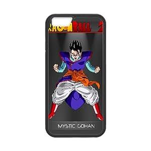 Mystic Gohan Dragon Ball Z Anime iPhone 6 Plus 5.5 Inch Cell Phone Case Black 218y-907555