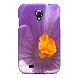 New Style DiamondCase Hard Case Cover For Galaxy S4- Winter Flower