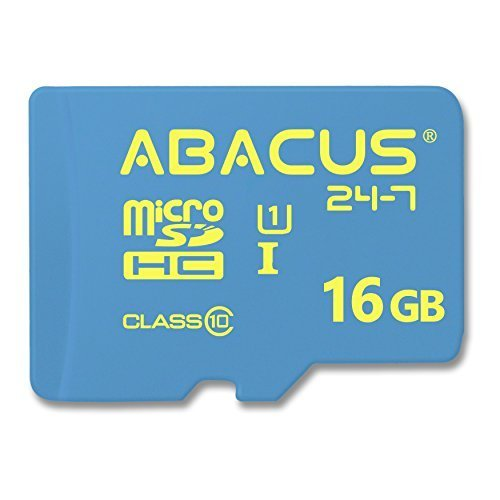 Abacus24-7 Nintendo Switch Memory Card, 16GB Micro SD Card, Also for 2DS, 3DS, 3DS XL, Wii & Wii U (16 ()