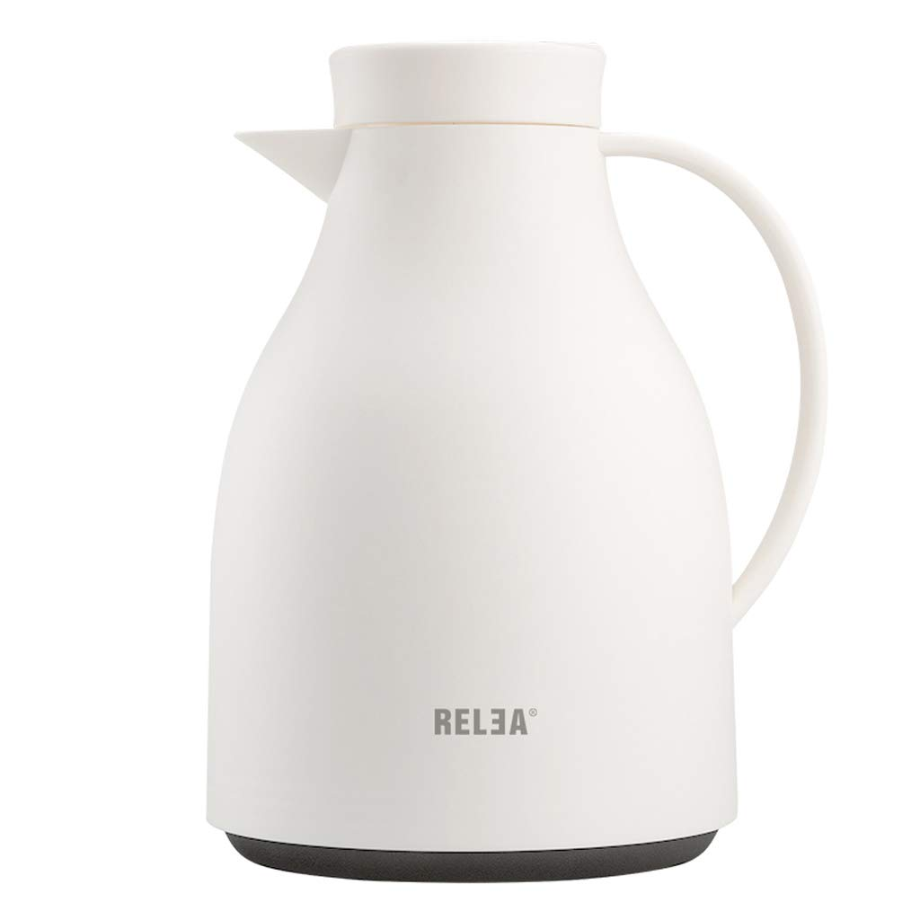YYHSND European Color Household Insulation Kettle Hot Water Bottle Dormitory Kettle Large Capacity 16.8x25x8.5cm Electric kettle (color : White)