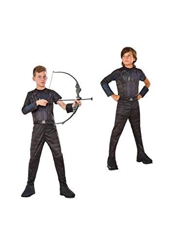 Big Boys' Civil War Hawkeye Costume and Bow and Arrow Set