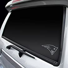 New England Patriots Silver Window Logo Decal Sticker
