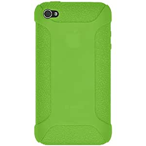 Amzer AMZ90520 Silicone Skin Jelly Case for Iphone 4 CDMA (Green)