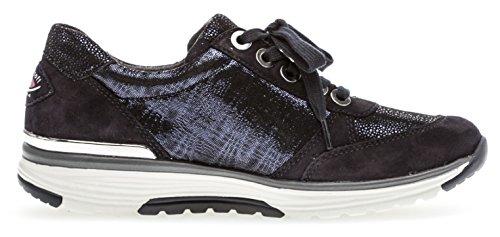 Para Zapatos de Mujer Azul Gabor Cordones vOt1qww