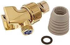 Shower Arm Mount Polished Brass
