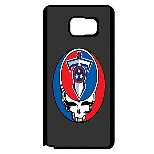 Samsung Galaxy Note 5 Blue And Red Tennessee Titans Phone Case Cover Titans Skeleton Logo