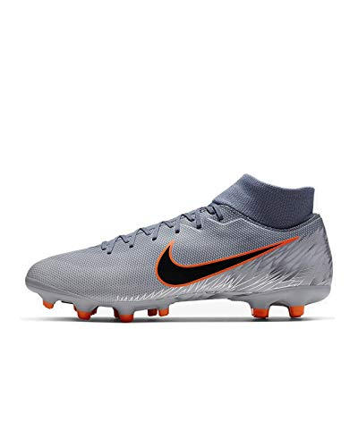 Nike Men's Mercurial Superfly 6 Academy MG Soccer Cleat Armory Blue/Black/Wolf Grey Size 9 M US