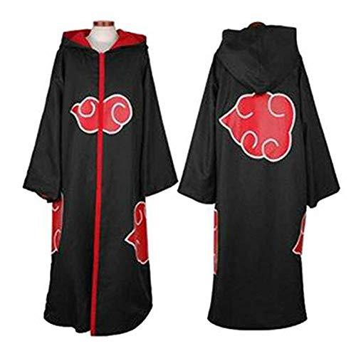 Coz' Place Unisex Naruto Cosplay Costume Akatsuki Halloween Uniform Cloak (Taka/Hawk) ()