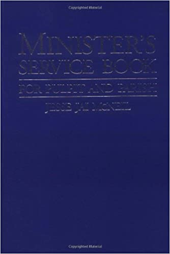 Book Minister's Service Book: For Pulpit and Parish