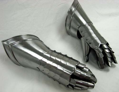 Reproduction Medieval Finger Gauntlets in Steel Fully Wearable By Nauticalmart by NAUTICALMART