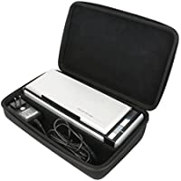 Khanka Hard Case for Fujitsu ScanSnap S1300i Mobile Document Scanner