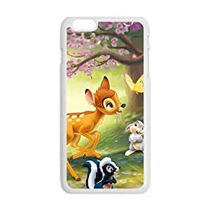 Lovely deer butterfly rabbit squirrel Cell Phone Case for iPhone plus 6