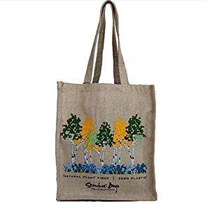 Stardust Reusable Eco-friendly Jute Grocery Bags