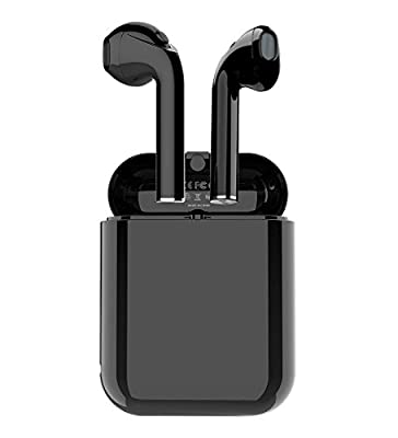 Bluetooth Earbuds,True Wireless Headphone Stereo Bass Earphones Sports Built-in-Mic up to 2.5 Hours Playtime (V5.0,IPX4 Case Skin)