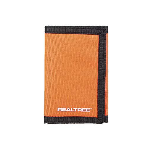 Real Tree Men's Nylon Trifold Wallet, Orange, One Size ()