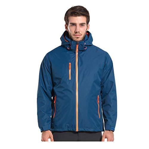 Épaisse Imperméable D'extérieur Vêtements Au Blue En Deux Gjfeng Femmes Vent Parties D'alpinisme Hommes Voyage Et Amovible Pour Veste Men De OEpx5wqaf