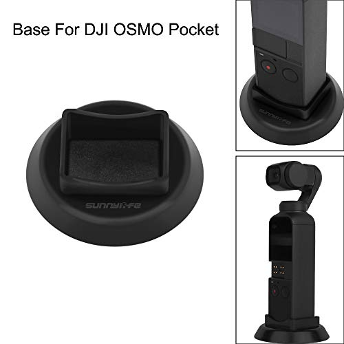 Christmas Best Accory for DJI OSMO Pocket!!!Kacowpper 1Pc Handheld Stabilizer Base Mount Stand for DJI Osmo Pocket Gimbal Camera by Kacowpper Accessory (Image #5)