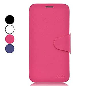 GJY High-end Protective PU Leather Case for Samsung Galaxy Mega 5.8 I9150 (Assorted Colors) , Rose