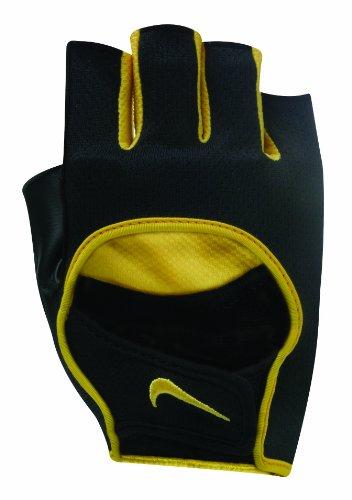 (Nike Men's Lightweight Cycling Gloves (Black/Flint Grey/Varsity)