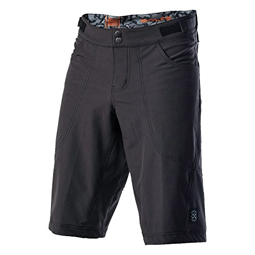 Troy Lee Designs Skyline Solid Men's BMX Bike Shorts - Black / Sz. 36 by Troy Lee Designs