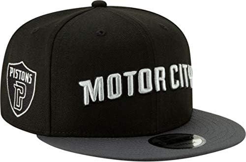 0d006f93e0313 Amazon.com   New Era Men s Detroit Pistons 9Fifty City Edition Adjustable Snapback  Hat   Sports   Outdoors
