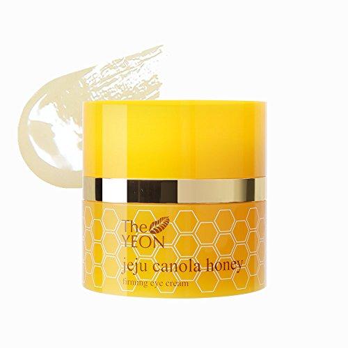 Korean Skin Care - The YEON Jeju Canola Honey Firming Eye Cream (30 ml/Net wt. 1.01 oz)