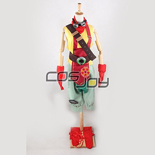 Cosjoy League of Legends Ekko Cosplay Costume