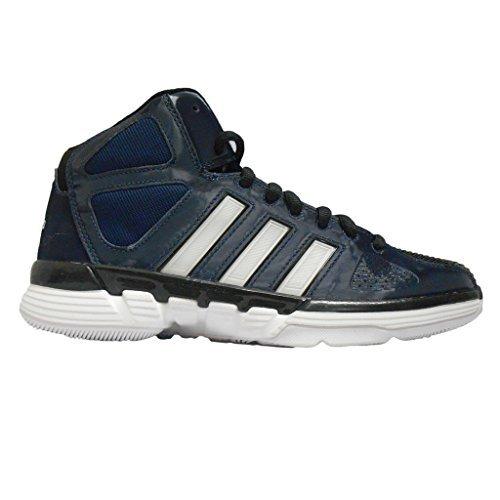 Zapatillas De Baloncesto Adidas Pro Model 0 Para Mujer (10, Indigo / Blanco / Negro)