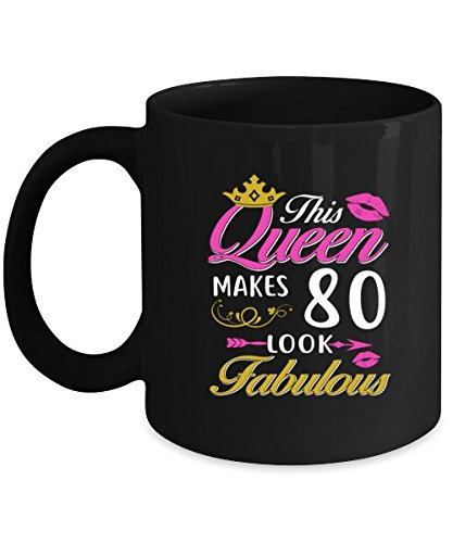Amazon 80th Birthday Coffee Mug For Women Cool Gift