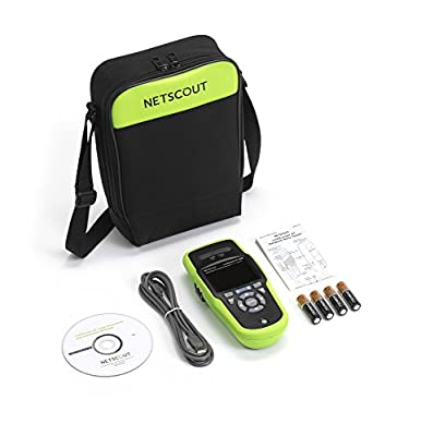 NETSCOUT LinkRunner G2 Smart Network Tester Extended Test Kit - Network connectivity tester with Link-Live Cloud Service
