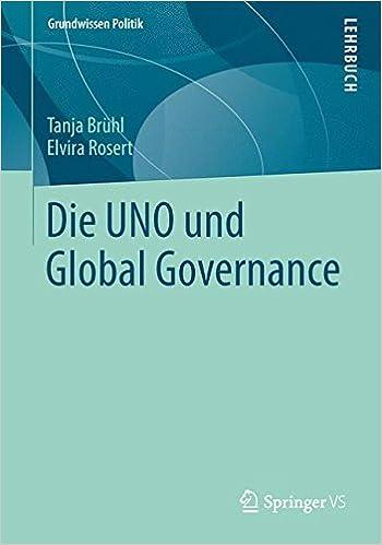 Book Die UNO und Global Governance (Grundwissen Politik)