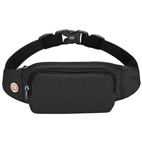 DoBrass Multi-Purpose Running Waist Bag for Men and Women, Transforms to Cell Phone Armband Pocket with Earphones Hole for -