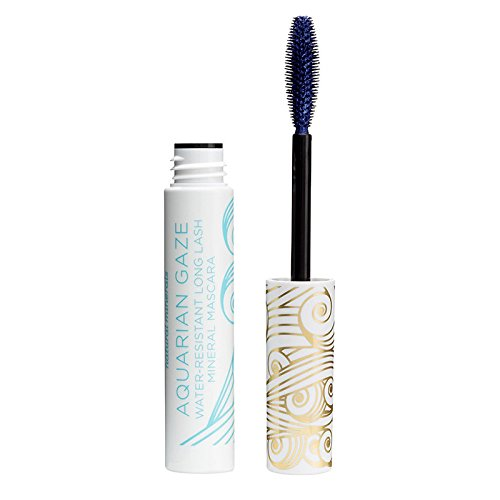 (Pacifica Beauty Aquarian Gaze Water Resistant Long Lasting Mineral Mascara, Deep (blue), 0.25 Ounce)