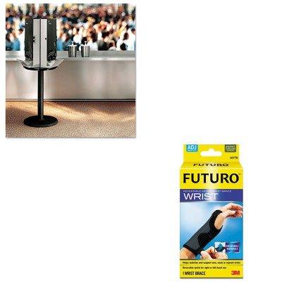 KITDXESSBASE08MMM10770EN - Value Kit - Dixie SmartStock Cutlery Dispenser (DXESSBASE08) and Futuro Adjustable Reversible Splint Wrist Brace (MMM10770EN)