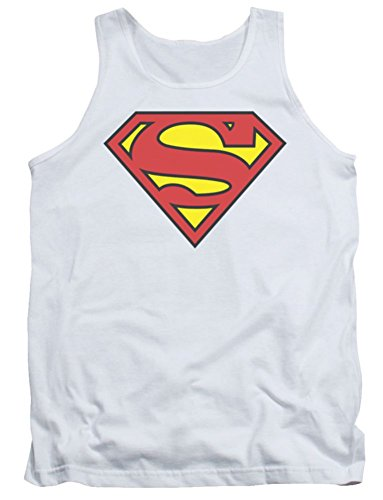Superman+tank+tops Products : Superman: Basic Logo Shield Tank Top