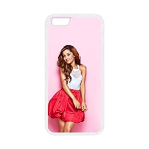 Ariana Grande For iPhone 6 Plus 5.5 Inch Cell Phone Case White BTY646309
