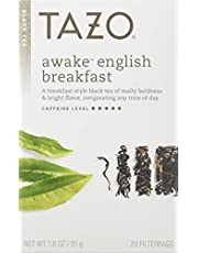 Tazo Awake English Breakfast Black Tea - 20 Tea Bags (Pack of 3)