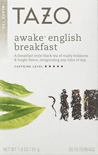 Tazo Awake English Breakfast Black Tea – 20 Tea Bags (Pack of 3)