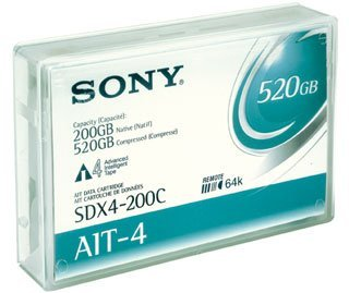 Sony - Tape AIT-4 AME 200/520GB by Sony