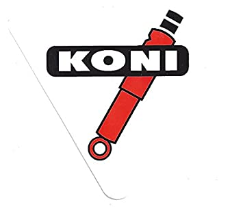 Koni Shock Racing Decals Stickers 3 12 Inches Long Size