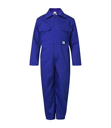 "Castle Clothing Children's Coveralls - Royal Blue (Chest Size = 32"") 333"