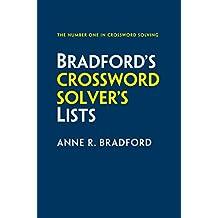 Collins Bradfords Crossword Solvers Lists