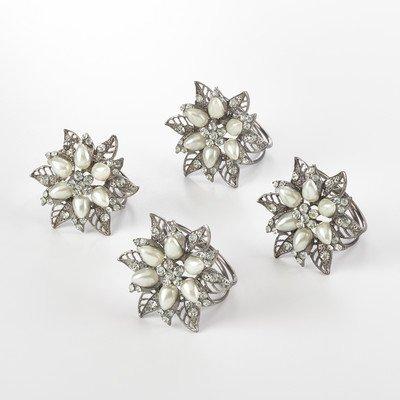 Bejeweled Napkin Ring (Set of 4) ()