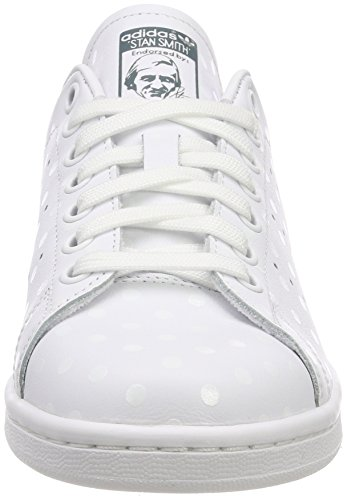 Blanc raw Chaussures De White Adidas Stan ftwr B41624 Green Femme ftwr Smith W Tennis White UwwaB0